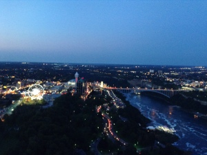 My view from the Skylon Tower, Toronto.