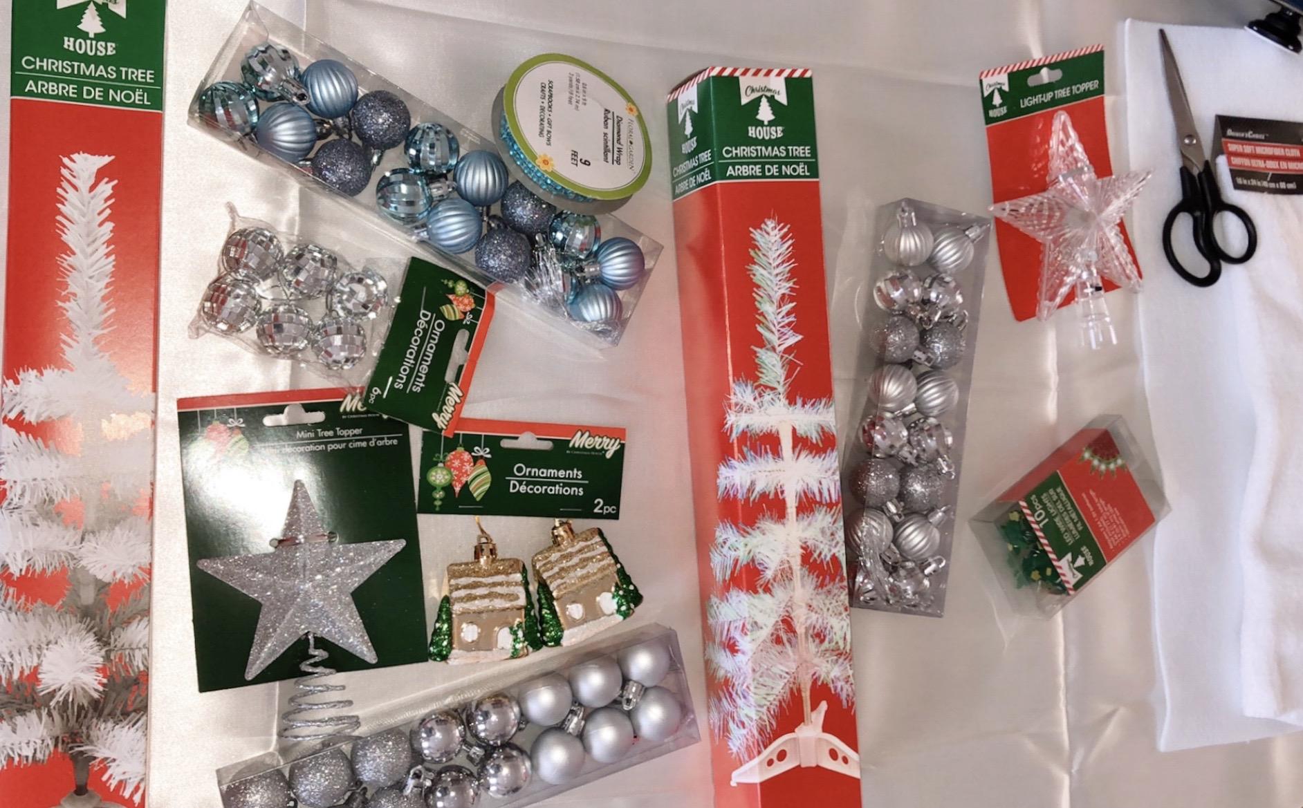Decorating Mini Christmas Trees From Dollar Tree Diy